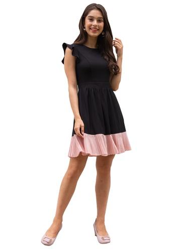L'zzie black LZZIE ESTELLA DRESS - BLACK 9A1A5AA14679A3GS_1