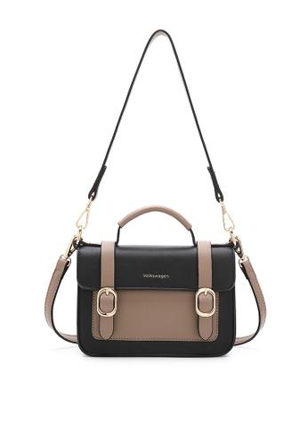 Volkswagen black Women's Hand Bag / Top Handle Bag 19803ACD58073AGS_1