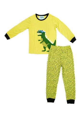 Boboo yellow Piyama Anak Yellow Dino LSLP33 9385DKA13A47ABGS_1