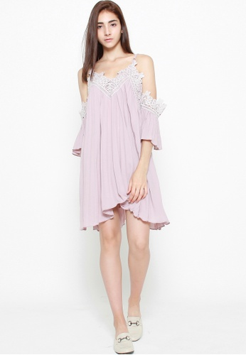 Ingrid Loose Fit Lace Dress