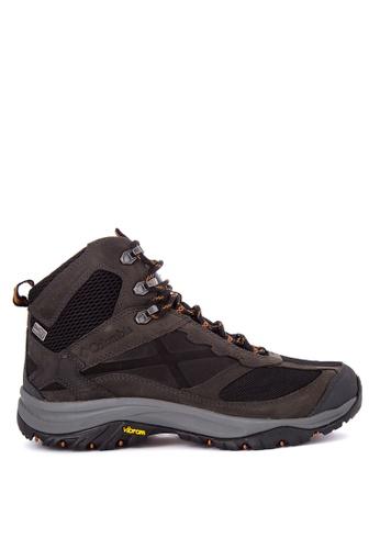 Columbia black Terrebonne Mid Outdry Men's Shoes   CO143SH0KDEVPH_1