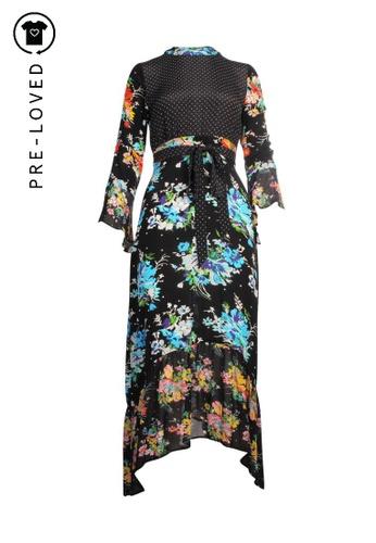 Rixo multi Pre-Loved rixo Floral Print Maxi Dress D87F7AA3DB6C2FGS_1