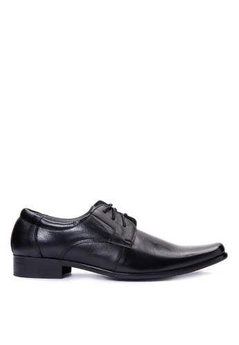Brogue & Derby black Franchot Formal Shoes BR611SH14EBHPH_1