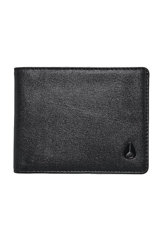 Nixon black Nixon - Escape Bi-Fold Clip Wallet Black NI855AC64EIXSG_1