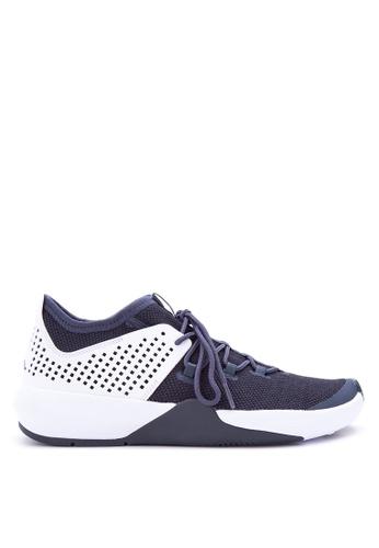 Nike black and white and blue Men's Jordan Express Shoes NI126SH0IVJMPH_1