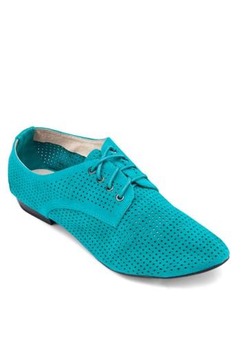 雕花牛津鞋, 女鞋, zalora 泳衣鞋