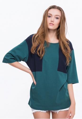 Alpha Style green Jamari BF T-Shirt AL461AA0FVCYSG_1