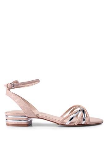 ALDO beige Legaecia Heeled Sandals DE51ESHA063184GS_1