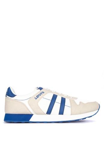 Levi's white Webb Sneakers B5196SH6F272E2GS_1