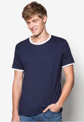 撞色圓領TEEesprit衣服目錄, 服飾, 素色T恤