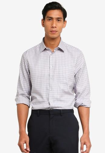 LC Waikiki orange and multi Regular Fit Long Sleeve Shirt 3D8B1AA8D7A03BGS_1