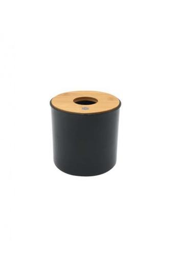 Primeo black Premium Bamboo Black Toilet Roll Holder 77294HL7CC05A2GS_1