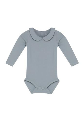 NAME IT blue Naima Long Sleeves Bodysuit E98CFKA9FC415DGS_1