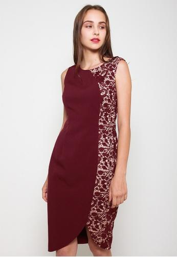 Leline Style red Amira Oriental Dress 02B60AA6FF6F1EGS_1