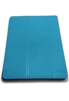 Belk Italian Style Leather Case for iPad Air 2 (Blue)