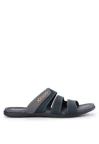 CARVIL navy Sandal Casual Men Oscar-03M 4C5CFSH4506638GS_1