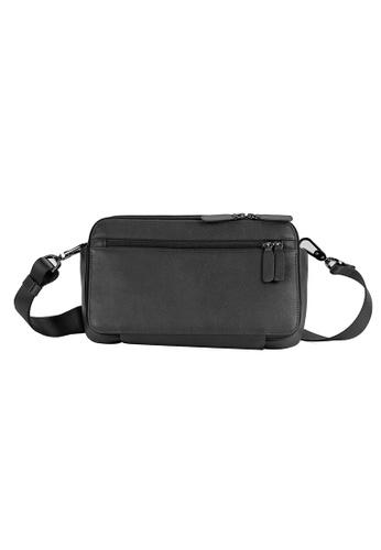 Alef black Madrid Multiway Shoulder Bag 588FCACC0300F1GS_1