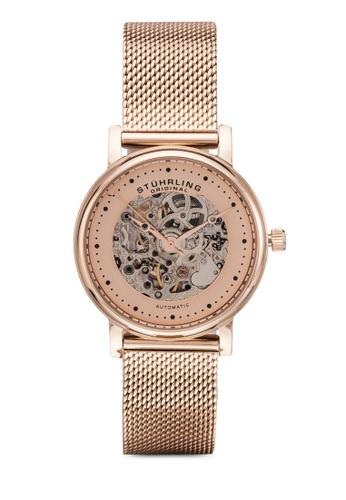 Stuhrling Original 粉紅色 Stuhrling Original Casatorra 832L Watch ST251AC24MZVMY_1