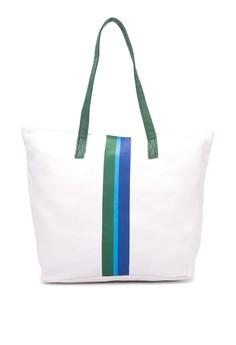 Ladies Striped Tote Bag