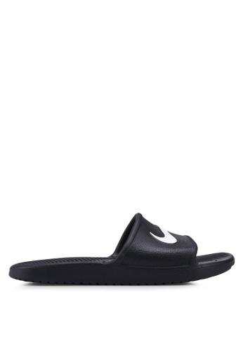 Nike black Men's Kawa Shower Slides 83C08SH330DAECGS_1