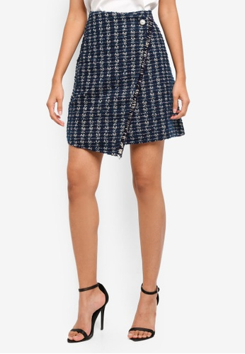 ESPRIT blue Woven Mini Skirt 531DDAA2DF3E57GS_1