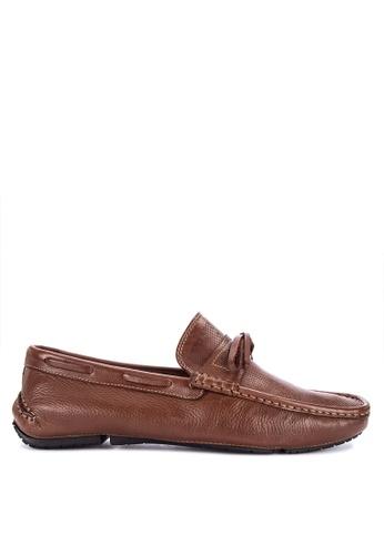 G&G brown Formal Slip On Shoes 08139SH2DFEC46GS_1