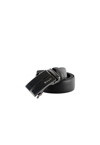 Valentino Rudy black Valentino Rudy Italy Men's 36mm Leather Auto Gear Buckle Belt 0463002-316 31F9CAC67F80AEGS_1