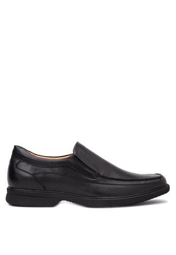 Bristol Shoes black Syklator Affleck loafers BR842SH27KDWPH_1