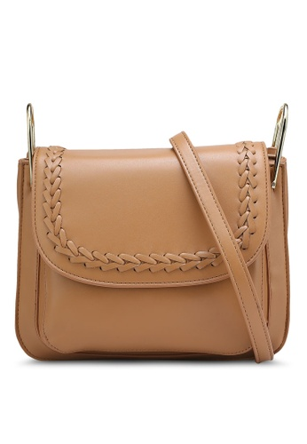Nose brown Casual Sling Bag NO327AC0RCAAMY_1