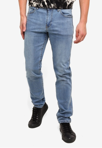 Dr Denim blue Snap Jeans ABE58AA55FCAE7GS_1
