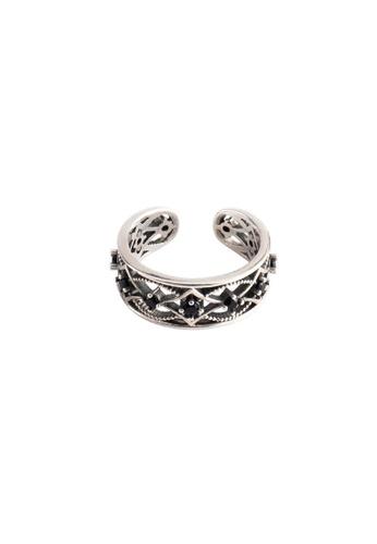 OrBeing white Premium S925 Sliver Geometric Ring F8791AC8C17258GS_1