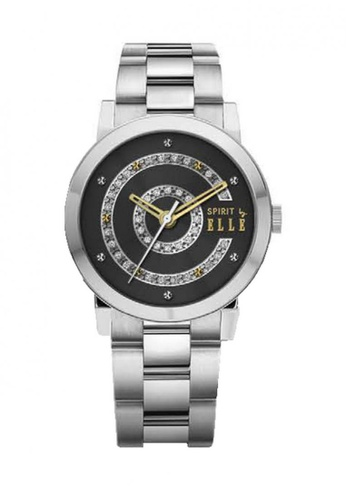 ELLE black Fashion Ladies Watch SP241AC81UBMMY_1