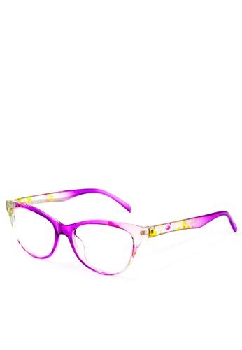 aad00a346e1 Shop Dooka Optical Cat Eye Wayfarer Eye Glasses 18112 Online on ZALORA  Philippines