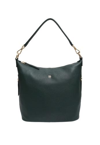 Valentino Rudy green Valentino Rudy Full Leather Hobo bag 8E679AC230182FGS_1