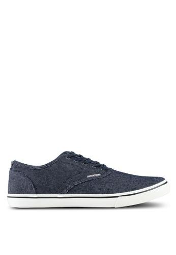 Jack & Jones navy Heath Denim Navy Blazer Sneakers CAE62SH37DF28EGS_1
