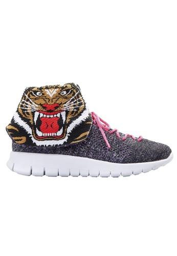 F-KNIT multi Ladies High Cut Fashionable Tiger Sneaker FK273SH46XFLHK_1