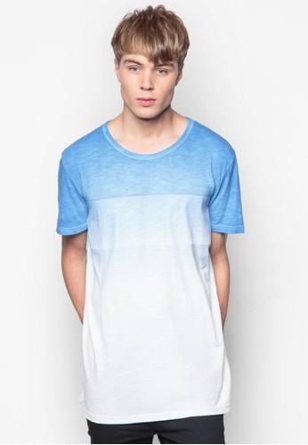 esprit 童裝漸層圓領TEE, 服飾, T恤
