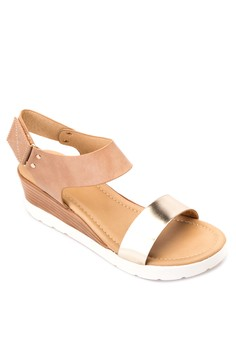 Donna Wedge Sandals