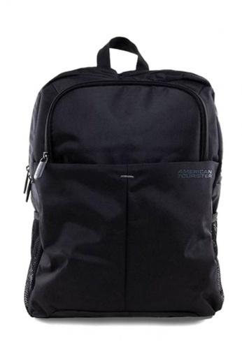 American Tourister black American Tourister SpeedAir Backpack AM536AC55XCISG_1