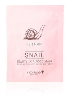 Beauty In A Food Mask Sheet, Snail