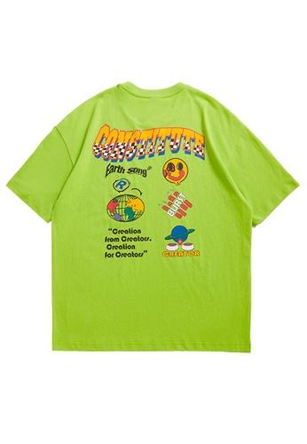 Twenty Eight Shoes Trend Printed Short T-shirt 5146S21 58825AA164250FGS_1