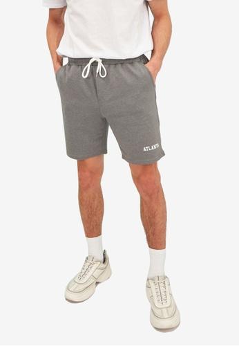 Trendyol grey Bermuda Shorts C86E8AA034CE8BGS_1