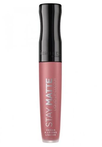 Rimmel pink Rimmel Stay Matte Liquid Lip Colour 5.5ml #110 Blush 8ECBBBED3A5624GS_1