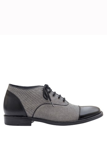 Keeve grey Keeve Shoes Peninggi Badan Formal 142-grey DB174SH5A5960FGS_1