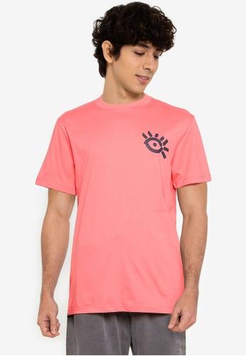 Desigual 粉紅色 Eye Tee 32C1AAA78498F7GS_1