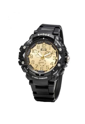 Greatvalueplus black and gold Kiel 1351 Dial Standard Analog Men's Watch 09CC3AC2FC4194GS_1