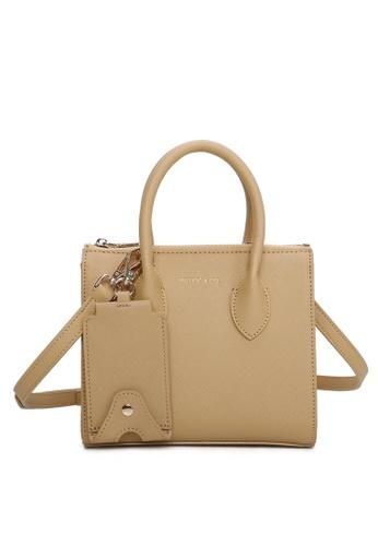 Milliot & Co. yellow Sebastiane Mini Top Handle Bag 3070DAC3643259GS_1
