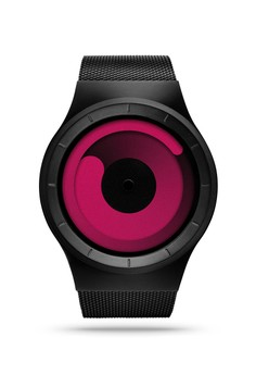 Mercury Black Magenta Watch