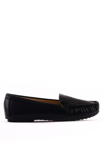 7soles black Hyacinth  Flat Shoes 0C371SH356B15BGS_1