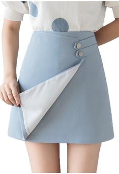 f4e7b45c433f Halo blue OL Summer Skirt 87B40AADCC5B79GS_1
